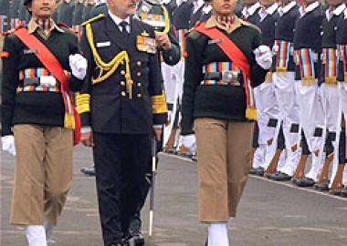 Navy chief Admiral DK Joshi